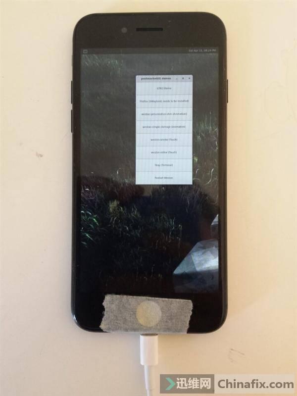 厲害了我的iPhone7:不僅能刷安卓還能刷Linux