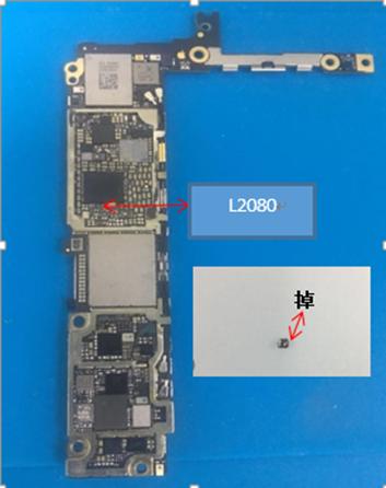 iPhone 6s Plus摔后开机重启无法进入系统维修