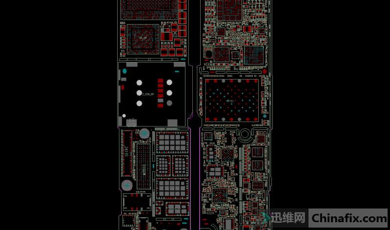 iPhone7Plus手机移动4G信号跳水维修