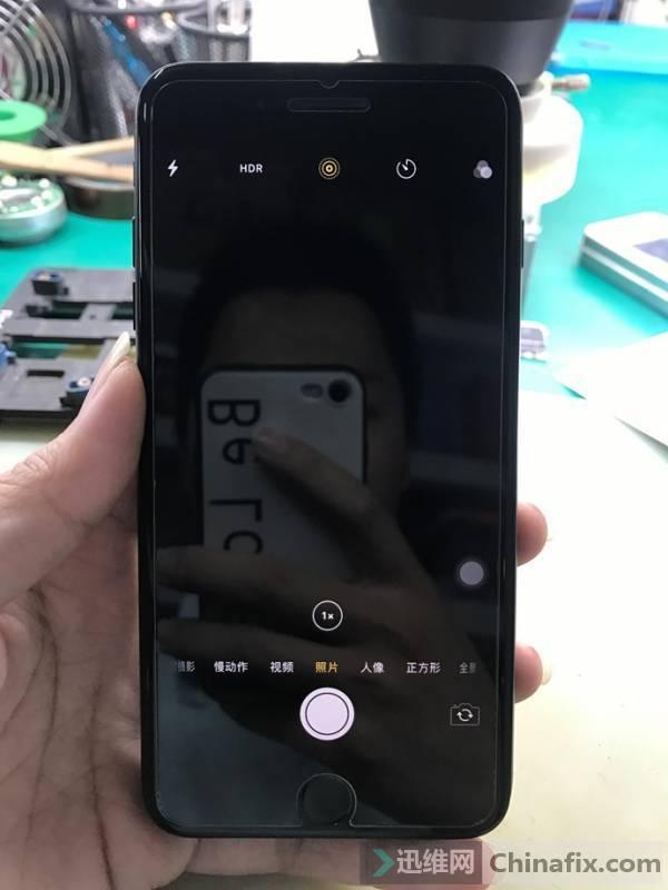 iPhone7P手机后置摄像头打不开维修