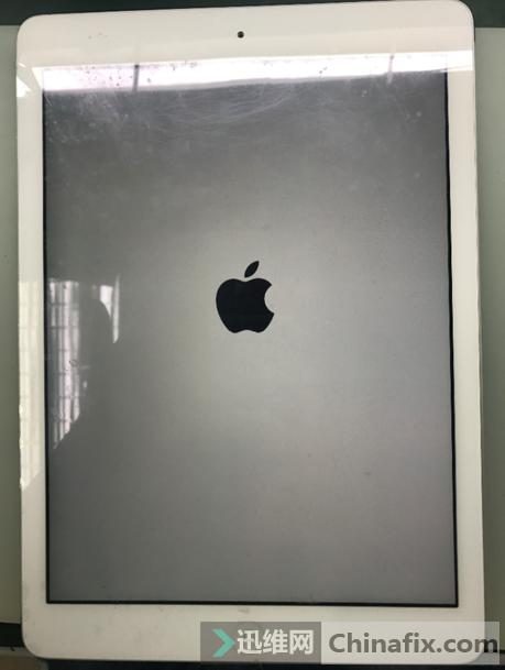 iPad Air不定时白苹果重启维修