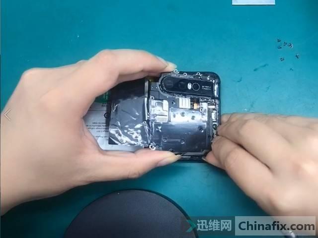 升降前置摄像全面屏VIVO S1拆解 图5