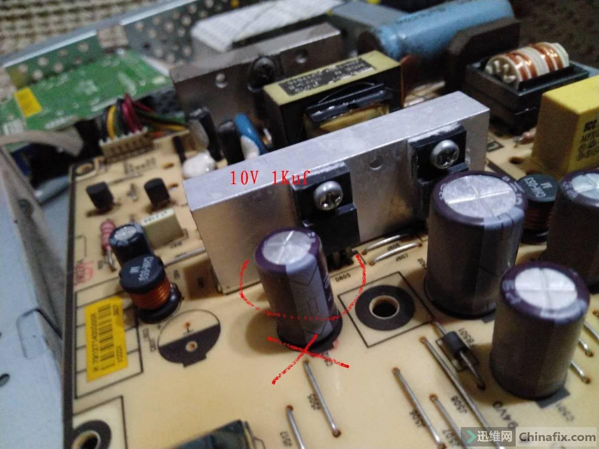 鼓包电容 电路板.jpg