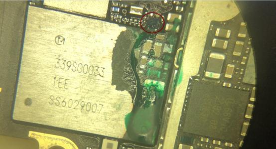 iPhone 6S开机白苹果,反复重启维修