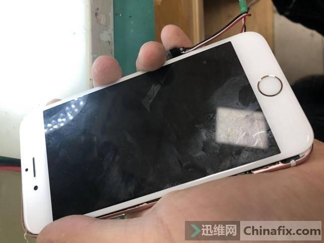 iPhone6S手机屏幕不显示维修