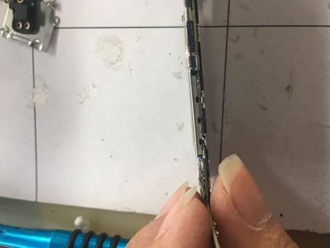 iPhone6s手机进系统后黑屏,强制重启无效维修 图3