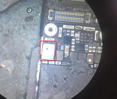 iPhone6s手机进系统后黑屏,强制重启无效维修 图6
