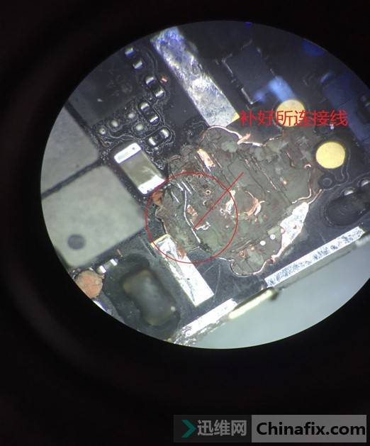 iPhone6P手机开机反复重启,自行拆机导致不开机维修 图2
