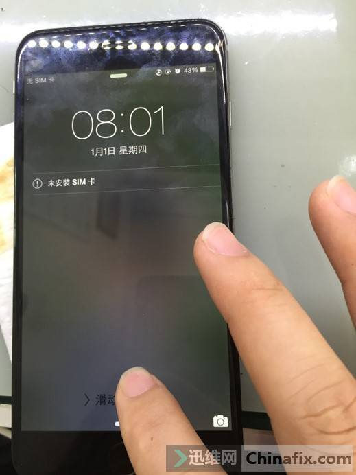 iPhone6 Plus 手机触摸不能用维修
