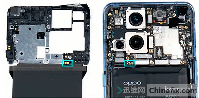 OPPO Find X3 PRO拆解 图6