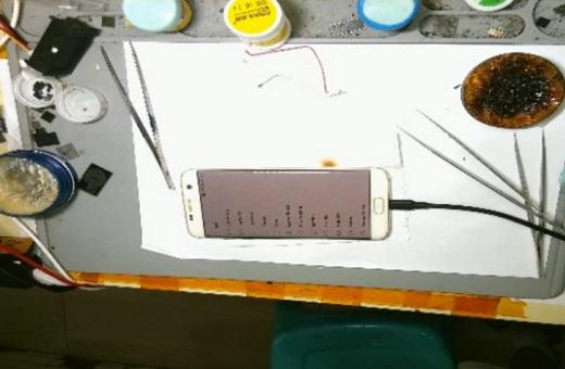 三星S7 Edge手机开不开机维修 图9