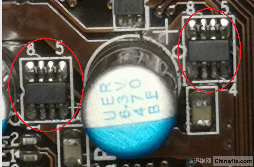 up7536芯片图