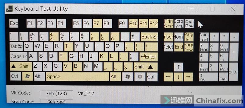 键盘有故障