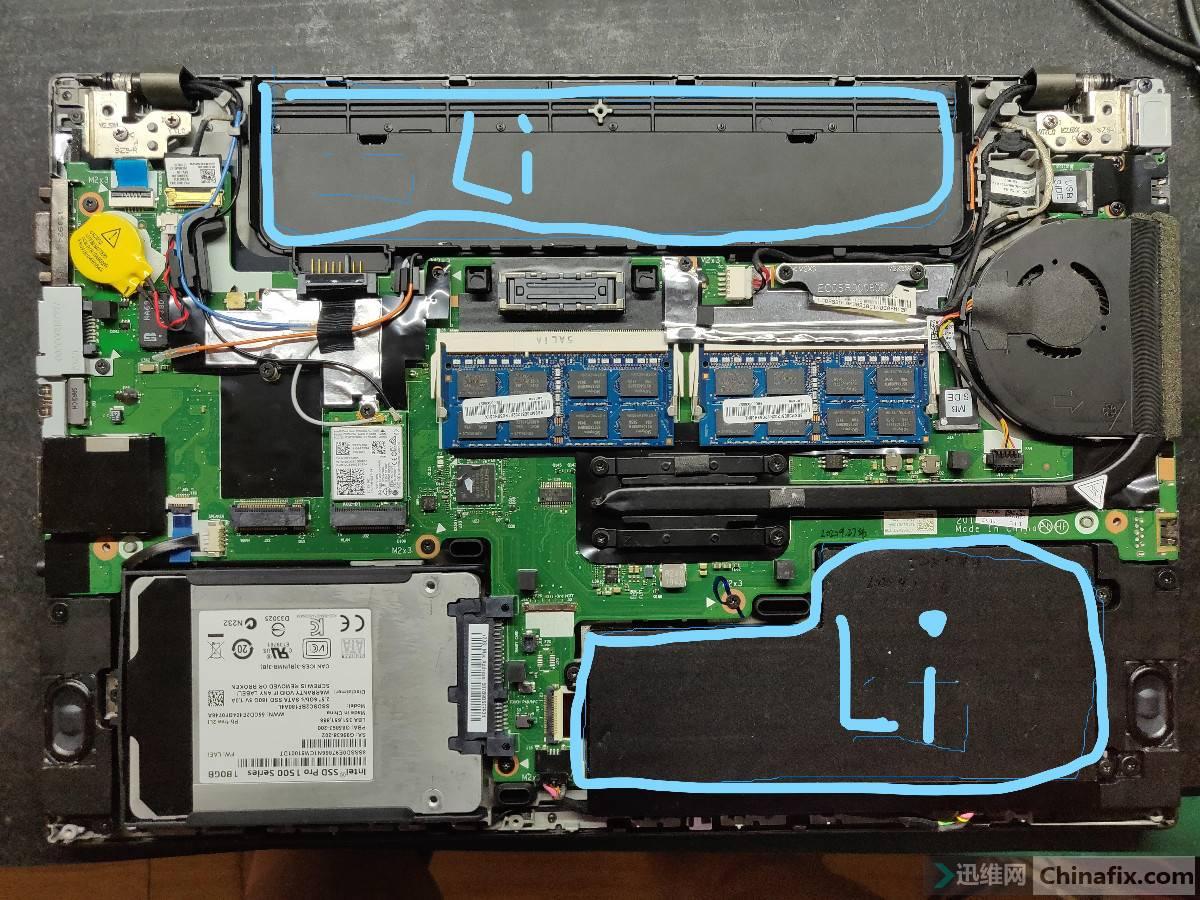 内外双锂电池设计
