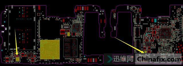 华为 Nova4e重摔不显示故障维修 图4