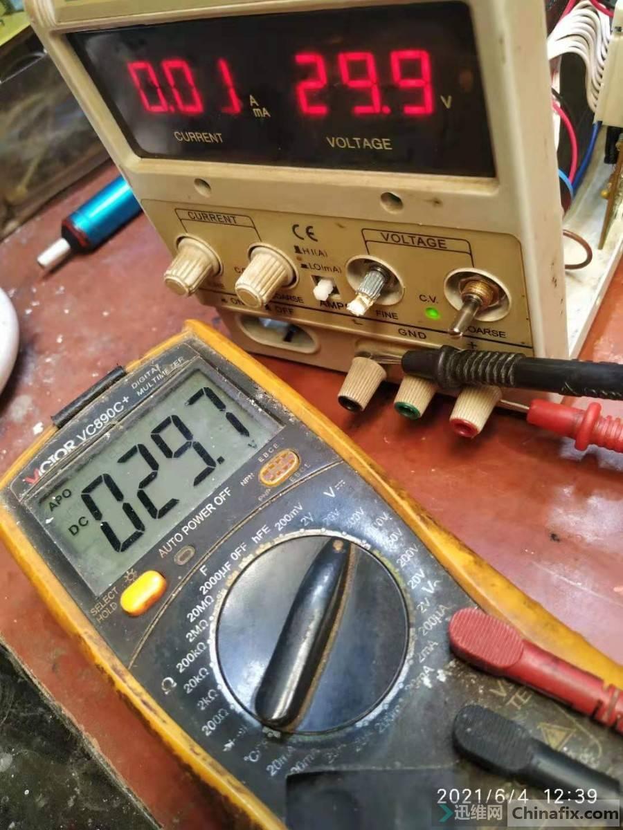 最高电压比实测电压底点