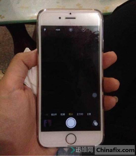 二修iPhone 6s手机照相机不能用故障维修 图1