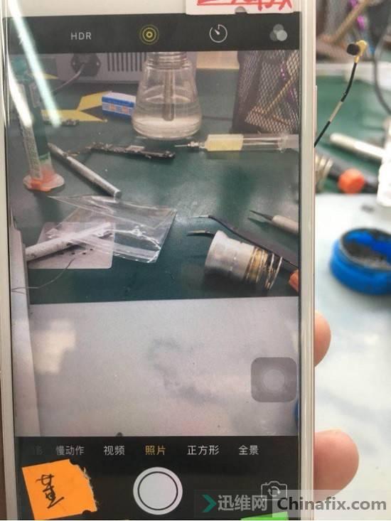二修iPhone 6s手机照相机不能用故障维修 图7