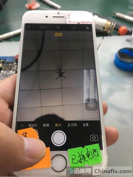 二修iPhone 6s手机照相机不能用故障维修 图8