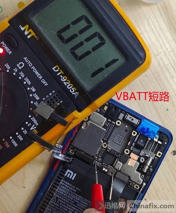 红米K20手机不开机维修及注意事项 图2