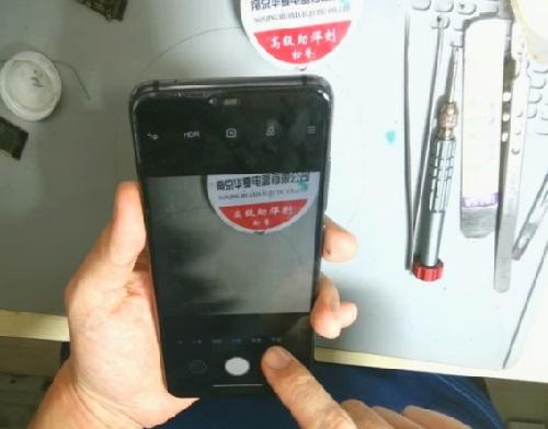 小米8青春版手机进水不能拍照故障维修 图11