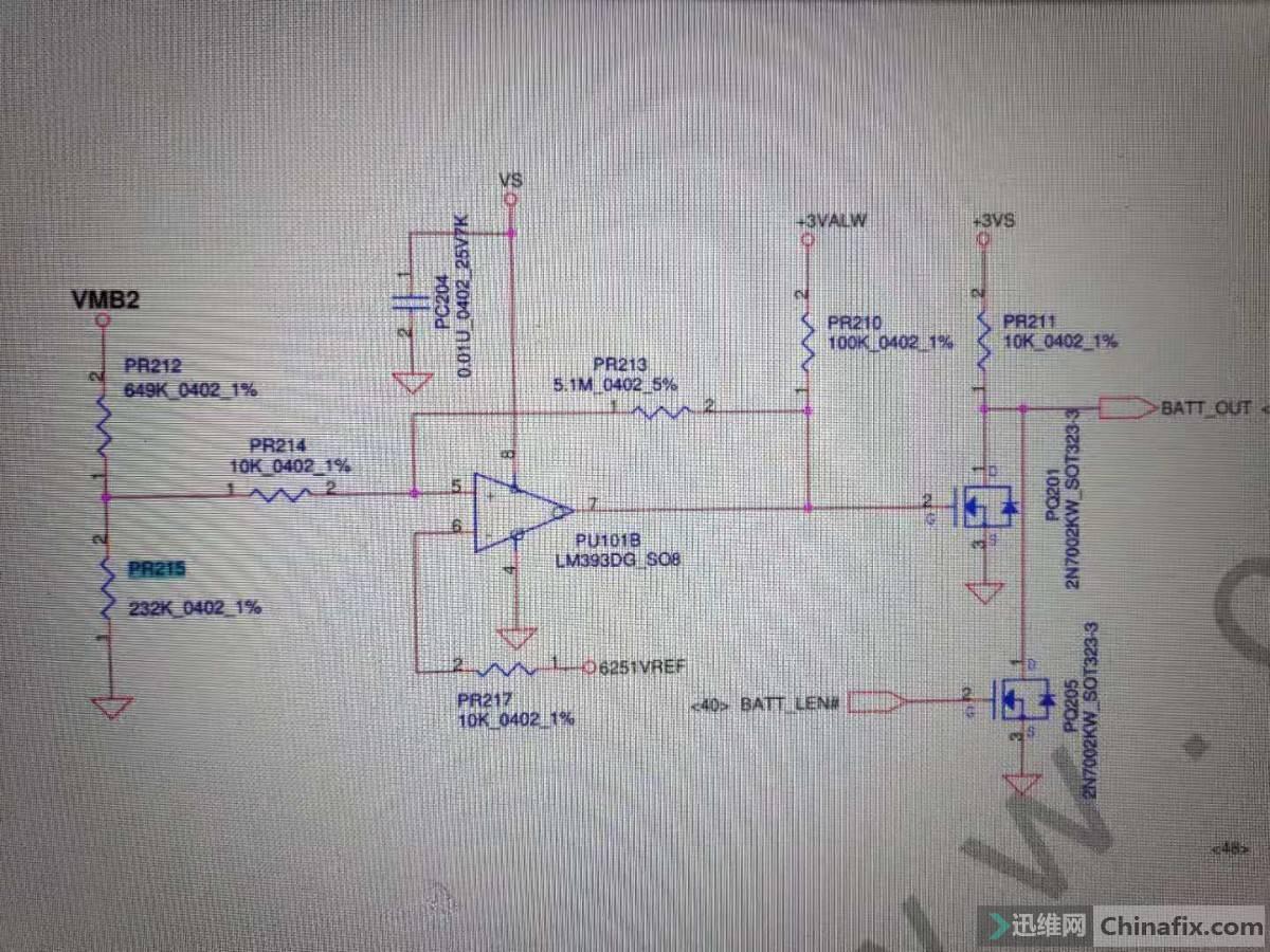 pr215在电路图