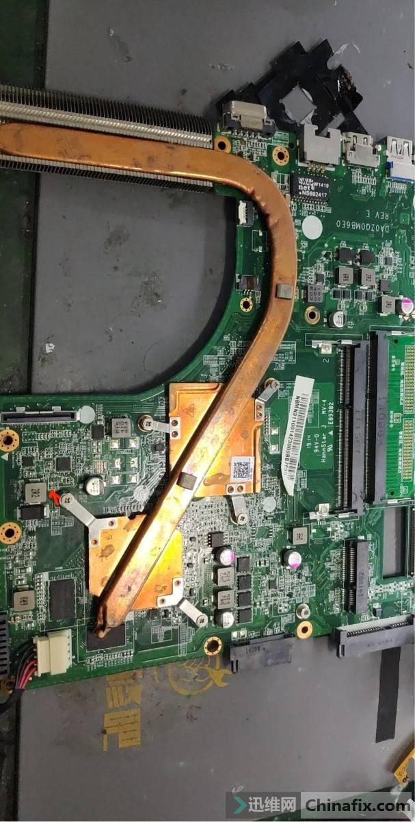 标记被撞的电阻