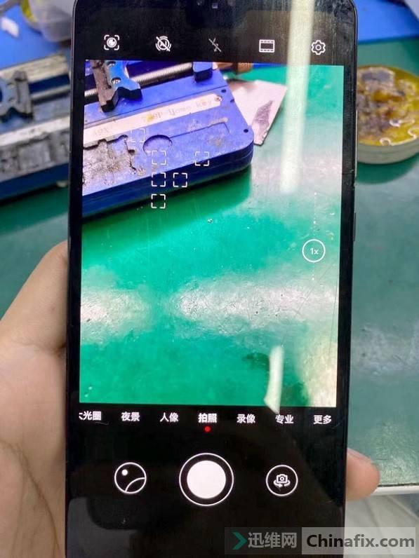 华为Mate30手机换屏后相机打不开故障维修 图5