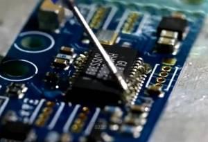 电子元器件拆焊过程视频分享
