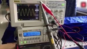 示波器探头衰减的使用方法