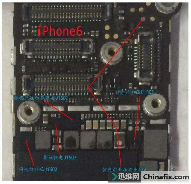 维修狮:iPhone6G拍照、感应及闪光灯问题维修案例