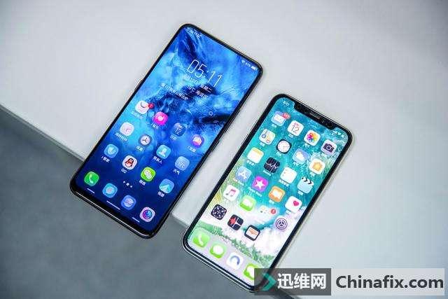 为什么只有iPhone X可以做到完全无下巴,OPPO、vivo却做不到?