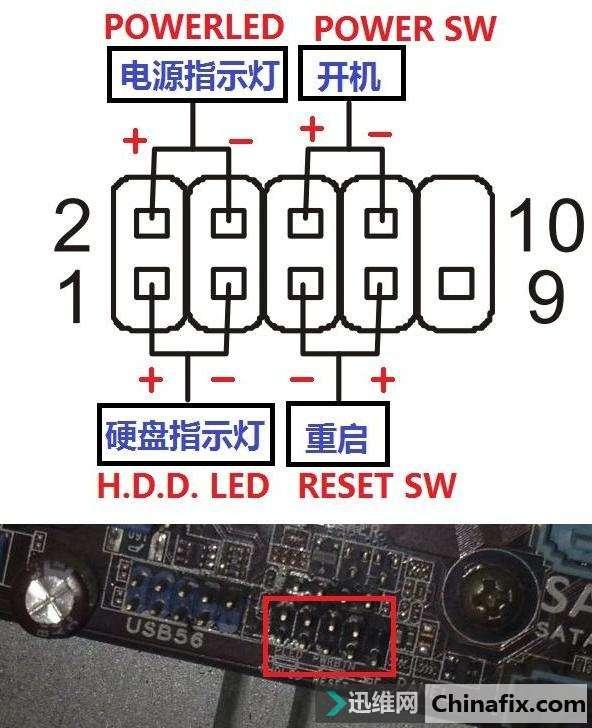 组装电脑怎么插线?组装电脑主板插线图文教程