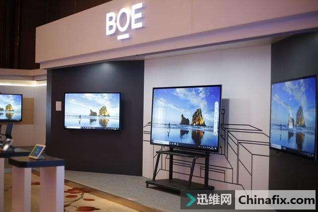 BOE(京东方)发布交互电子白板搞定方案