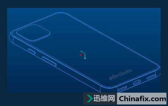谷歌Pixel 4 CAD規劃圖曝光 或將取消3.5mm耳機插口