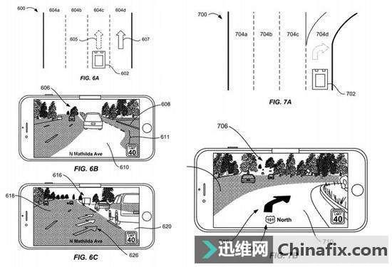 苹果申请AR地图专利 在实时路况上叠加导航信息