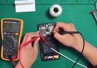 小米MiX2充电后,手机无法开机故障维修