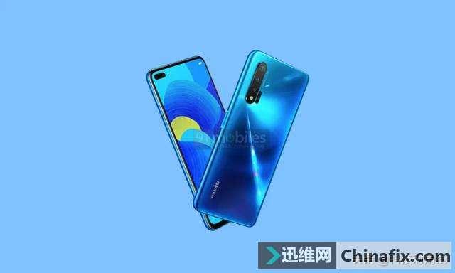 华为nova系列首款5G手机曝光,双挖空设计更加惊艳