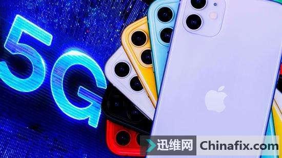 苹果明年将发布三款5G手机 采用高通骁龙X55 5G基带