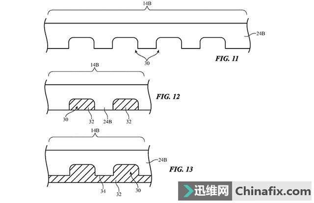 苹果公布可折叠iPhone专利 采用独特设计的玻璃柔性屏