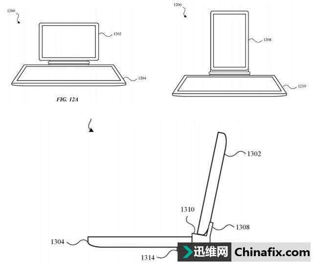 苹果的新专利:两台iPad连接,即可变成一台双屏电脑?