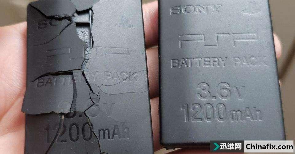 国外爆出索尼PSP电池出现膨胀破裂或泄漏问题频出,PSP玩家们小心咯!